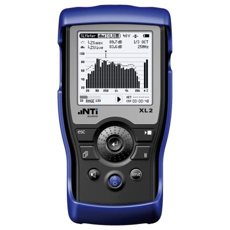 NTI ACOUSTIC ANALYZER XL2 1