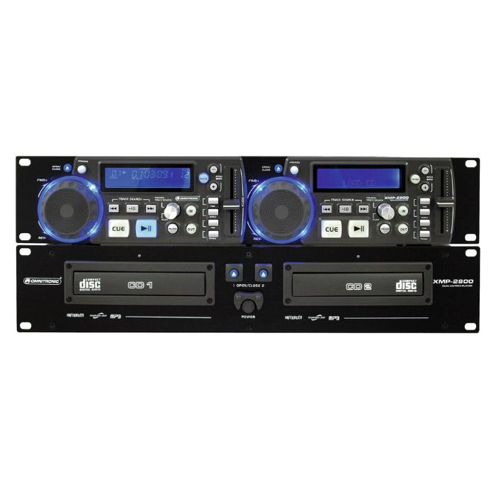 OMNITRONIC DOUBLE CD/MP3 PLAYER 5