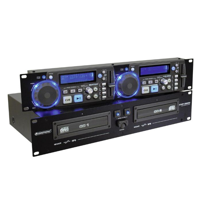 OMNITRONIC DOUBLE CD/MP3 PLAYER 1