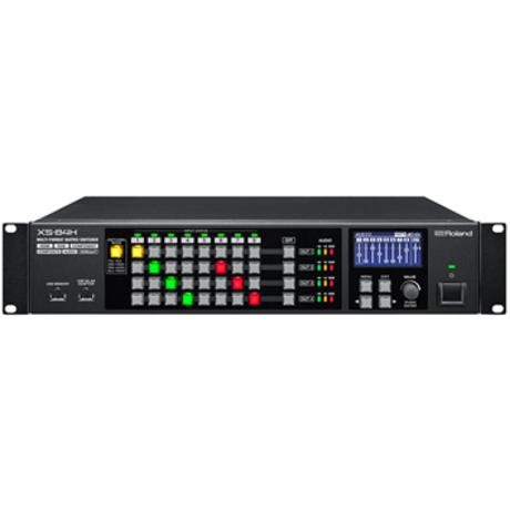 ROLAND MATRIX SWITCHER 8IN4OUT WITH HD BASET 1