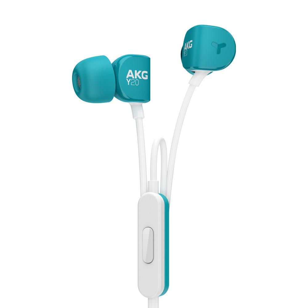 AKG ΔΥΝΑΜΙΚΟ ΑΚΟΥΣΤΙΚΟ IN-EAR ΨΕΙΡΑ + MIC ΤΥΡΚΟΥΑΖ