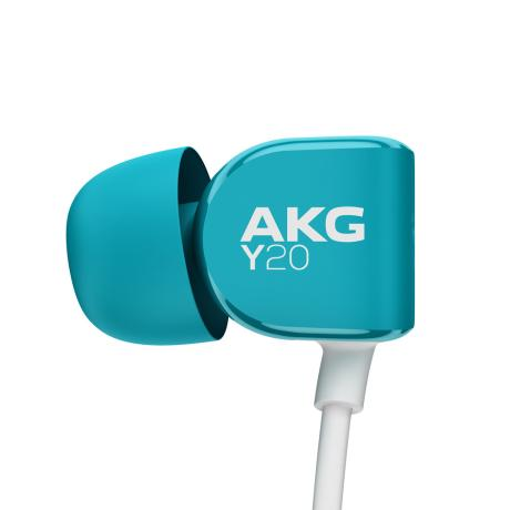 AKG IN-EAR HEADPHONES + MIC