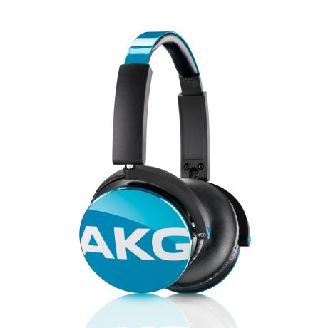 AKG FOLTABLE HEADPHONES CLOSED-BACK DESIGN + MIC