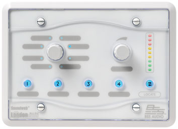 BSS PROGRAMMABLE ZONE CONTROLLER WHITE